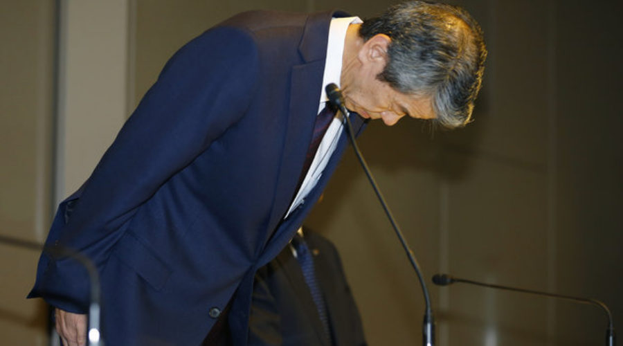 Toshiba CEO Resigns Over Cooked Books