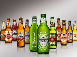 Heineken most likely to review a number of portfolio brands