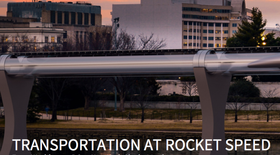 Forget self driving cars – there's Hyperloop