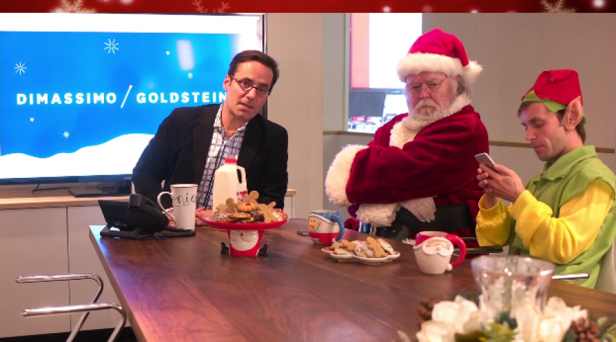 One tweet and it's over:  Santa fires Ad Agency of Record