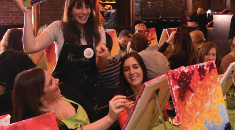 Digital Lead: Paint Nite's search for CMO talent