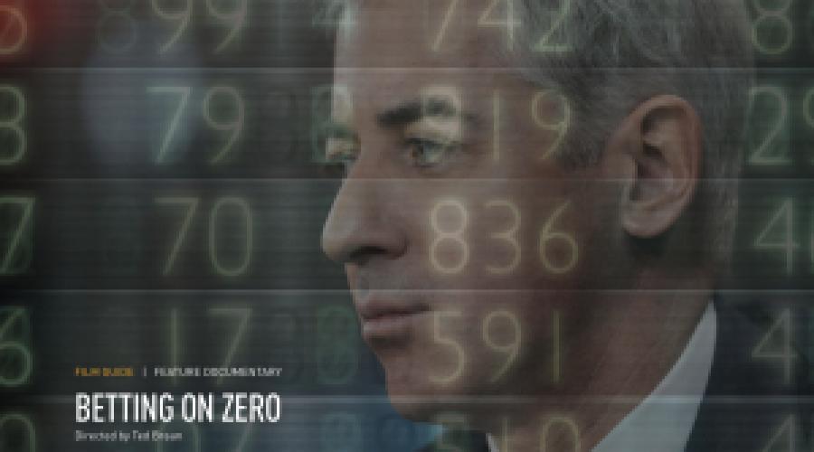 "The movie ""Betting on Zero"" could open door at Herbalife"