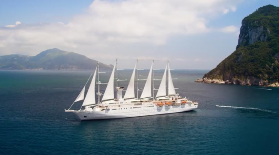 Lots of new folks board Windstar Cruises