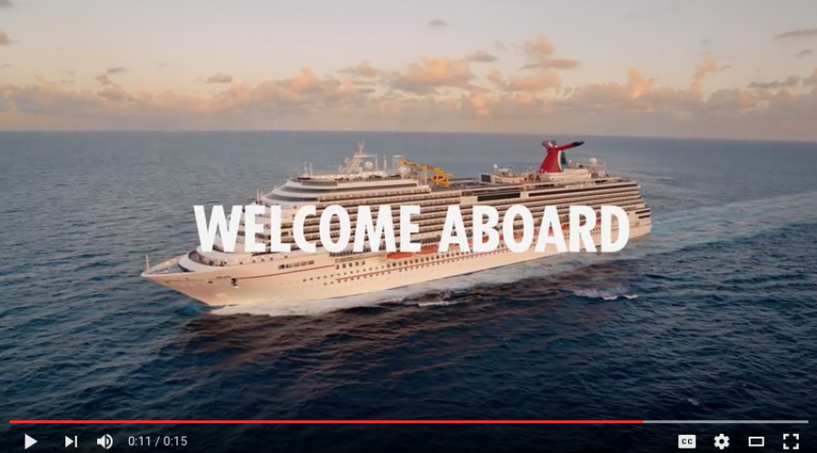 New CMO comes aboard Carnival Cruise Line