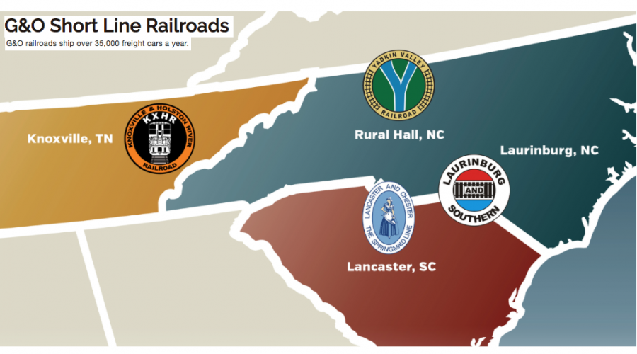 4 new top executives at Gulf & Ohio Railways