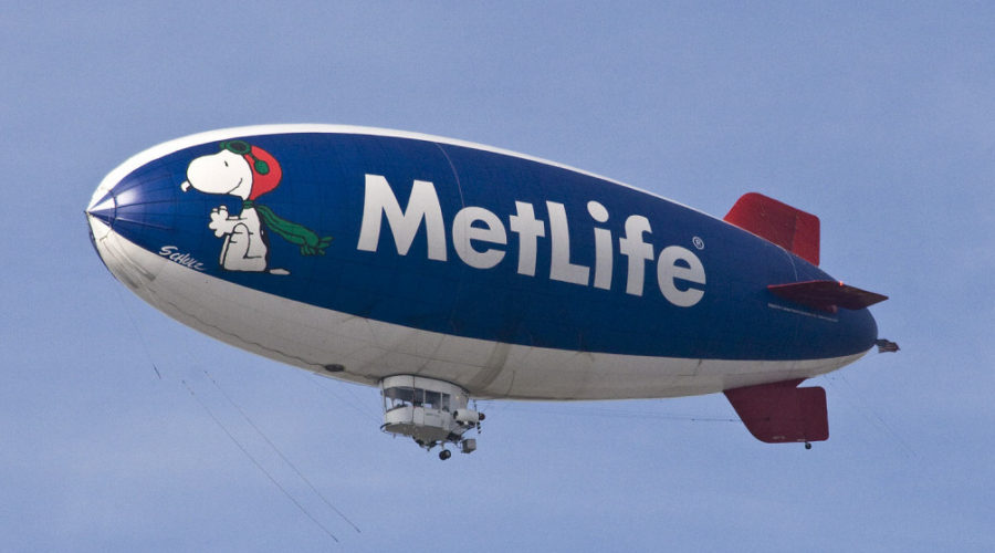 Snoopy and MetLife are splitsville