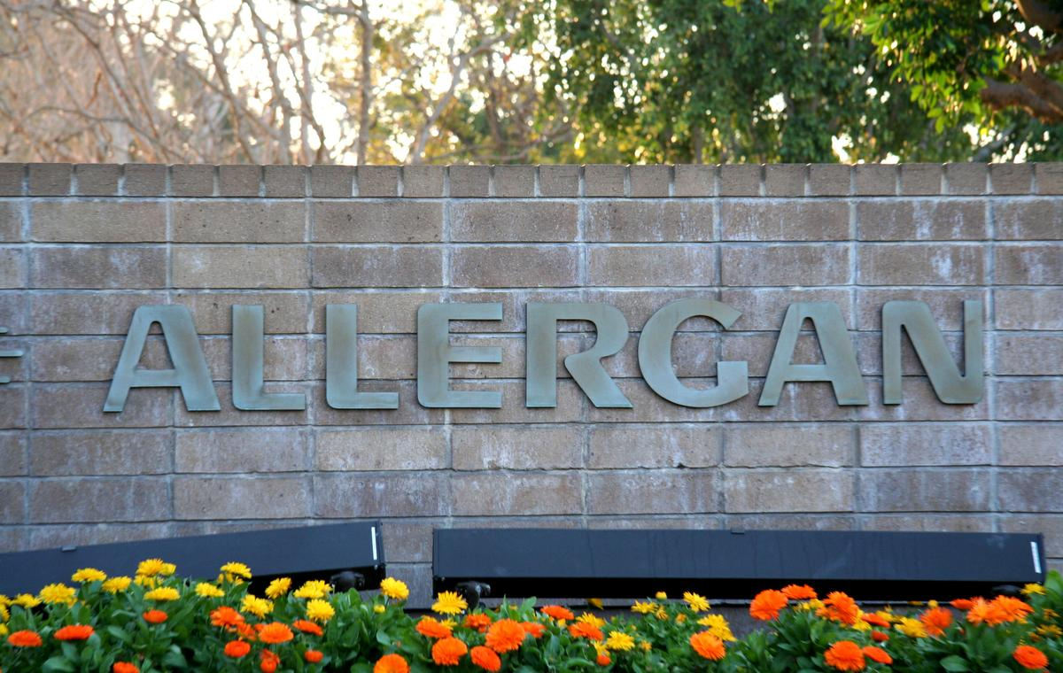 Feb 02, 2007; Irvine, CA, USA; Allergan, Inc., with headquarters in Irvine, California, is a global specialty pharmaceutical company that develops and commercializes innovative products for the eye care, neuromodulator, skin care and other specialty markets. In addition to its discovery-to-development research programs, Allergan has global marketing and sales capabilities in over 100 countries that deliver value to our customers, satisfy unmet medical needs and improve people's lives. Driven by technology and innovation, Allergan addresses the needs of consumers across the world with over 5,000 employees worldwide, 4 world-class Research and Development facilities and 3 state-of-the-art manufacturing plants (Credit Image: © Camilla Zenz/ZUMAPRESS.com)
