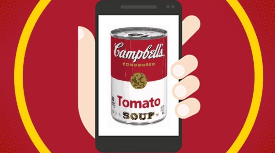 Campbell Soup shakes up its digital can
