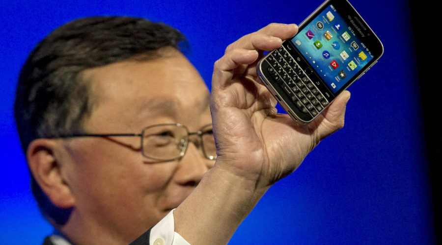 Blackberry creatively blows it again