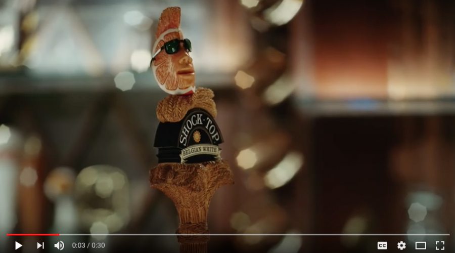 Anheuser's Shock Top brand is out talking with agencies