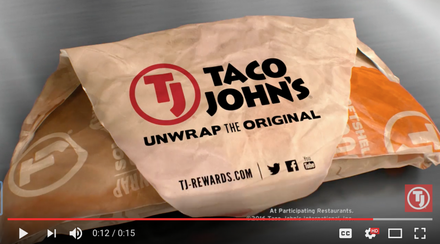It's time to check-in with Taco John's