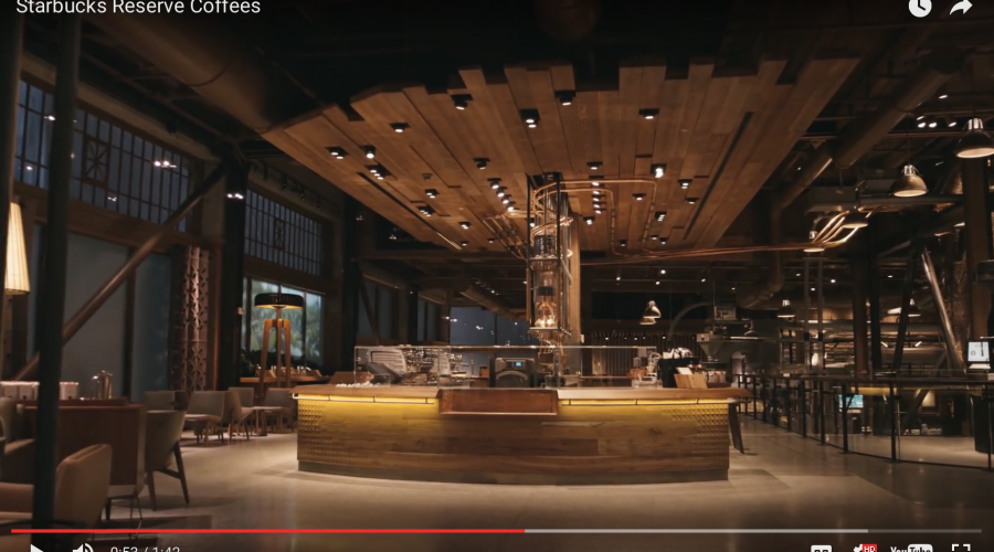 "Opening 1000 Starbucks Reserve coffee ""bars"""