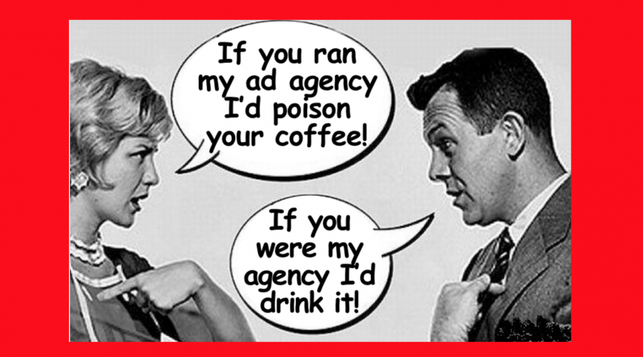 Trouble in client/agency paradise?