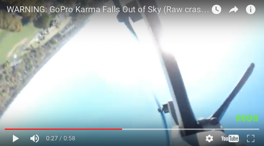 Love hearing your product is falling out of the sky?