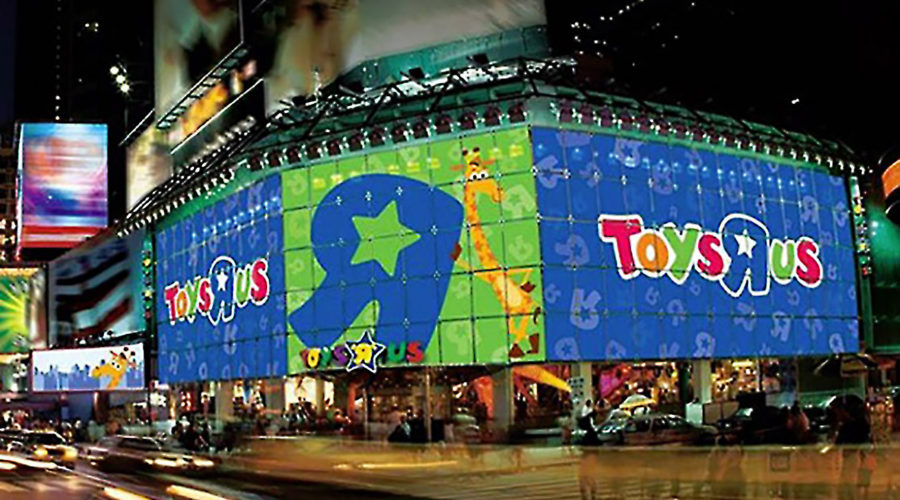 The Make-Over at Toys-R-Us