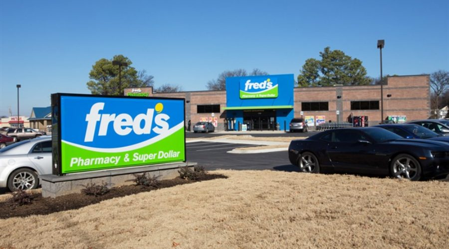 Doubling Fred's drug stores