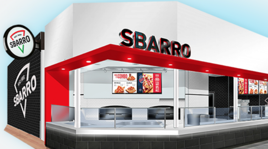 Sbarro pizza joint is CMO-less
