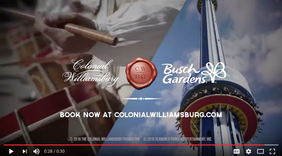 Colonial Williamsburg seeks Marketing Mouthpiece