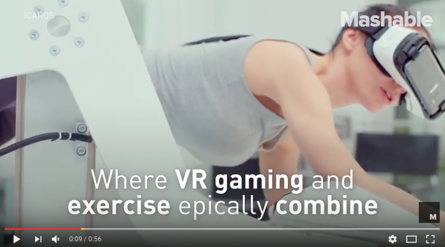Virtual Reality / Workout Machines are going to take off