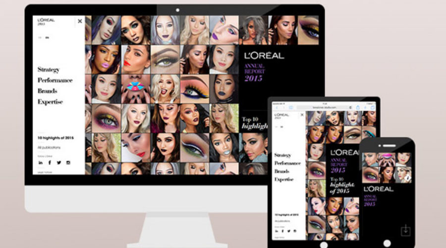 L'Oréal's digital plans