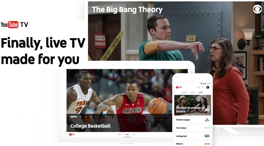 Launching YouTubeTV