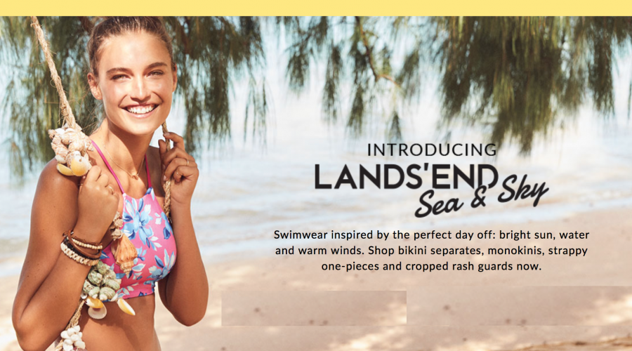 Lands' End is finally ready for You