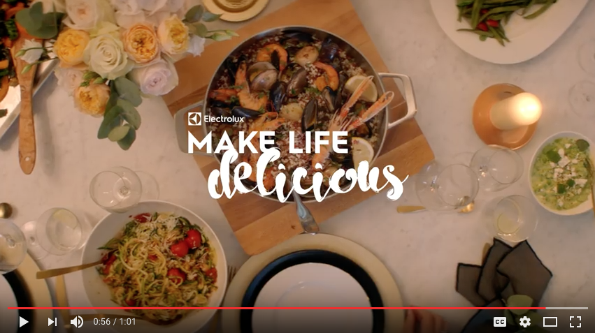 Did last year's ad review at Electrolux take?