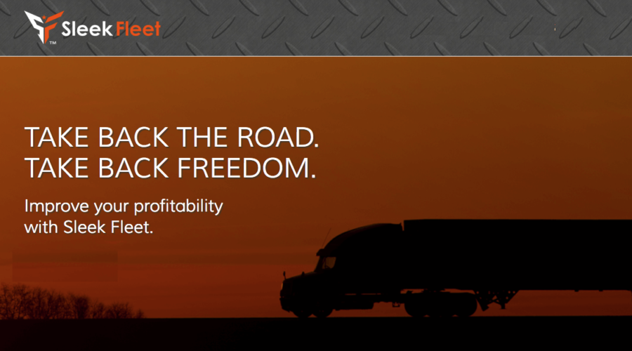 No need for a trucking company: Introducing SleekFleet