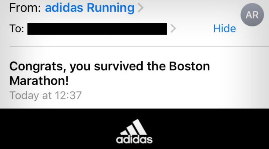 """Adidas """"Clearly, there was no thought"""""""