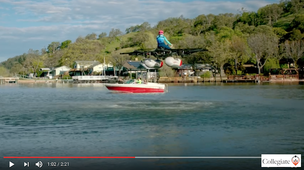 Help sell this flying car that's more a flying jetski