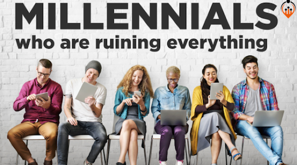 "We got a juicy lead for you agencies that ""understand"" millennials"