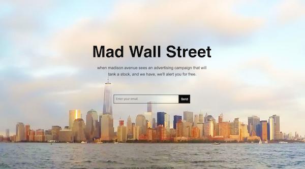 Introducing MadWallSt.com