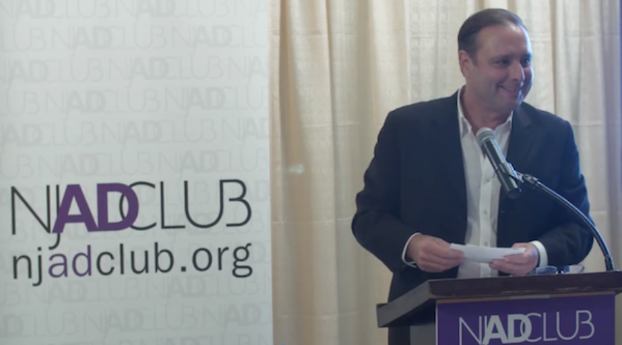 Steve Ratti Inducted into Advertising Hall of Fame by NJ AdClub