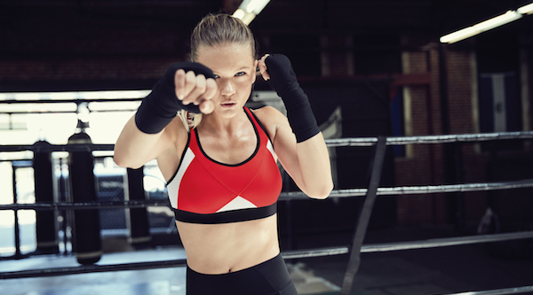 Iconic athletic brand jumps in the ring of retail: Advertising?