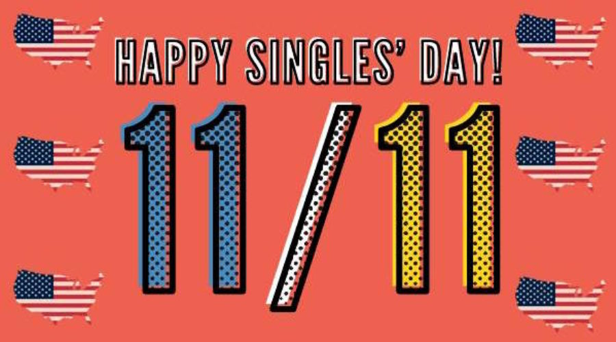 Singles' Day is Tomorrow