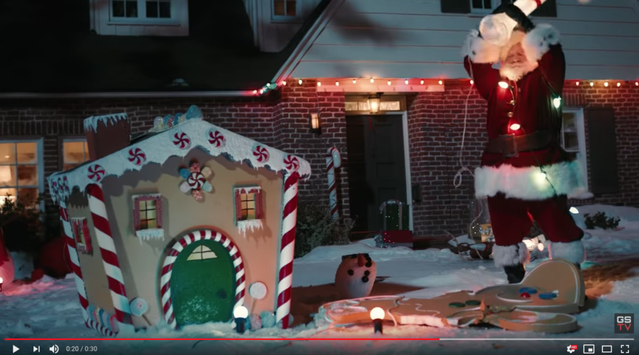 Santa's pissed but it won't help yearlong sales: More Ads Will