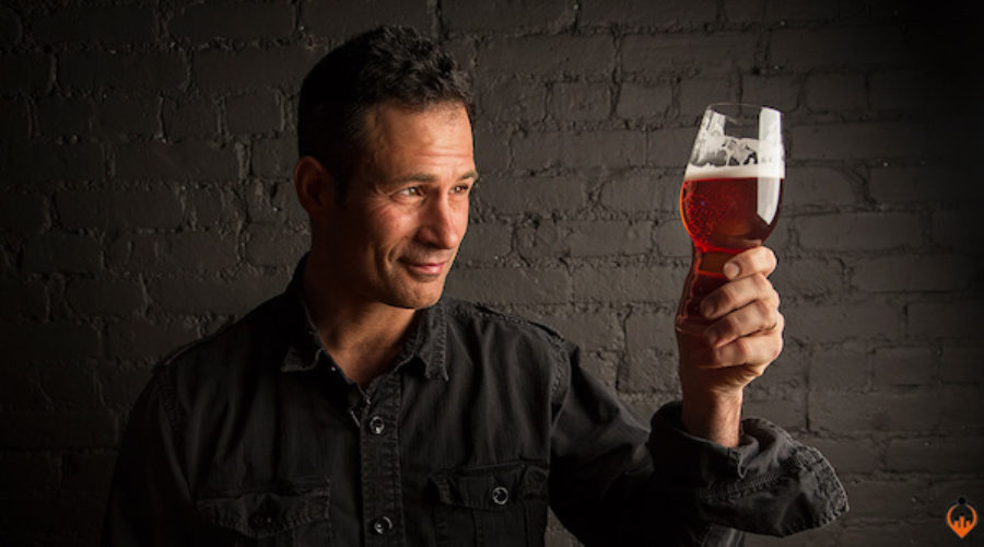 Maybe now this brewery will do advertising . . . staring this guy