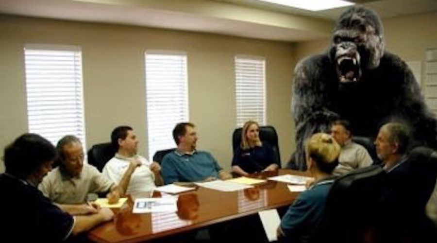 Does your client roster have an 800 pound gorilla?
