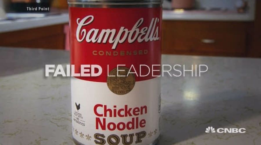 Campbell's Failed so this guys is taking it all back, including advertising