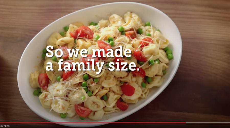 Food conglomerate sets free another food business & we see an ad review cooking