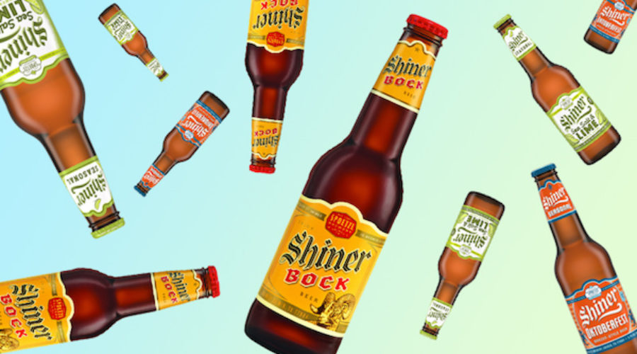 Shiner beer is our latest ad review prediction come true