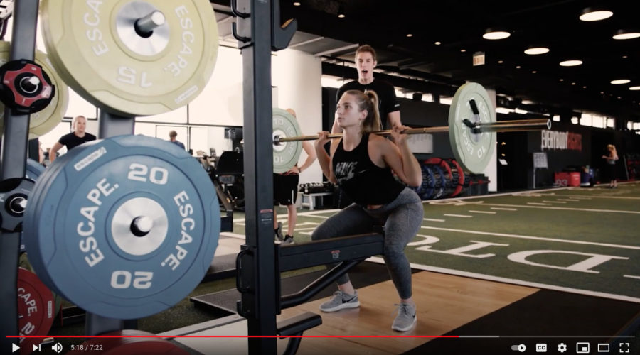 A new brand hitting the home gym biz will require all new advertising